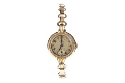 Lot 754-A LADY'S ROTARY GOLD WRIST WATCH
