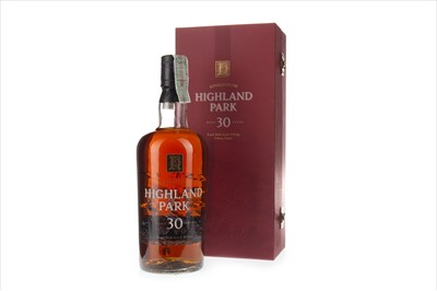 Lot 22-HIGHLAND PARK 30 YEARS OLD