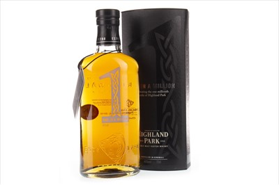 Lot 25-HIGHLAND PARK ONE IN A MILLION AGED 12 YEARS