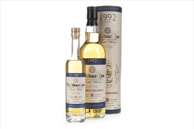 Lot 308-TULLIBARDINE 1992 70CL AND 1988 20CL