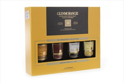 Lot 319-GLENMORANGIE 'THE PIONEERING COLLECTION' (4X10CL)