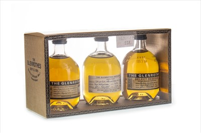 Lot 322-GLENROTHES 10CL TRIPACK