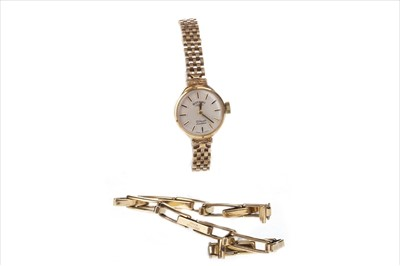 Lot 755-A LADY'S ROTARY GOLD WATCH