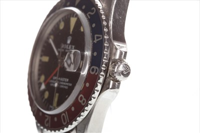 Lot 760-A GENTLEMAN'S ROLEX 1675 GMT PEPSI WATCH