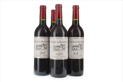 Lot 2022-FOUR BOTTLES OF COUR D'ALBRET 2006