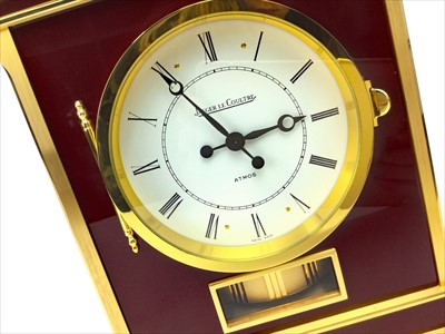 Lot 1144-A JAEGER LECOULTRE 'ATMOS' ROYALE MANTEL CLOCK