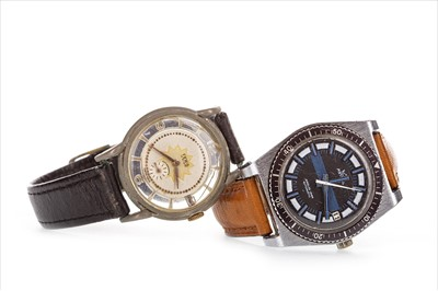 Lot 760-TWO GENTLEMAN'S WRIST WATCHES