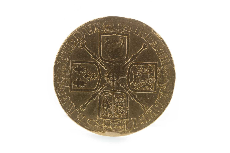 Lot 15-A GEORGE II (1727 - 1760) GUINEA DATED 1725
