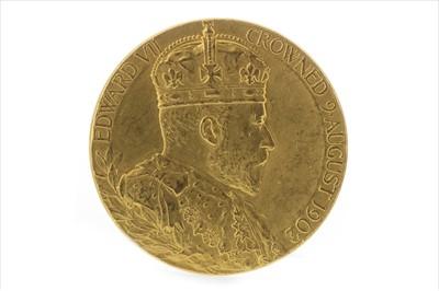 Lot 6-AN EDWARD VII GOLD CORONATION COIN