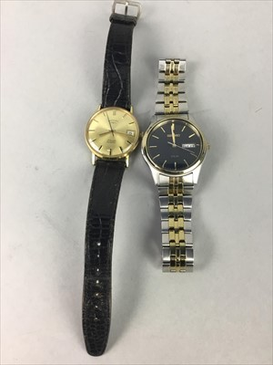 Lot 9-TWO GENTLEMAN'S WRIST WATCHES
