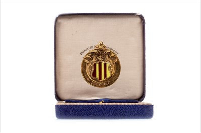 Lot 1727-A NORTHUMBERLAND LADIES COUNTY GOLF ASSOCIATION GOLD MEDAL 1938