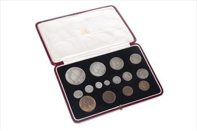 Lot 9-A 1937 SPECIMEN COIN SET