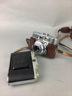 Lot 26-A VOIGTLANDER VOIGTMATIC II CAMERA ALONG WITH OTHER