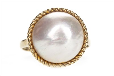 Lot 1305-A PEARL SET RING