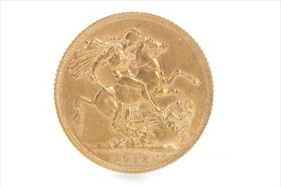 Lot 18-A GOLD SOVEREIGN, 1913