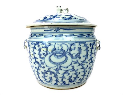 Lot 1010-A 20TH CENTURY CHINESE LIDDED JAR