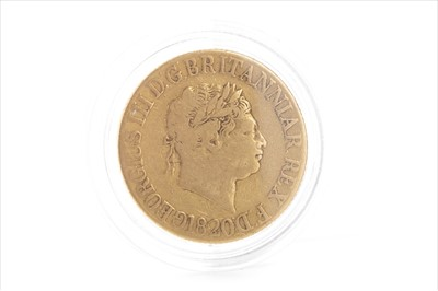 Lot 20-GOLD SOVEREIGN, 1820