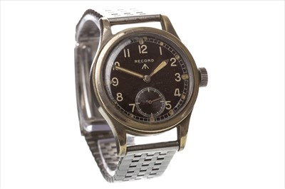 Lot 822-A GENTLEMAN'S RECORD MILITARY ISSUE WATCH