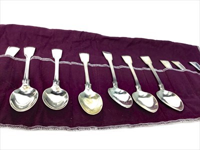 Lot 946-A COMPOSITE SET OF TWELVE EARLY 20TH CENTURY DESSERT SPOONS