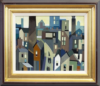 Lot 506-MILL TOWN, OLDHAM, AN OIL BY PETER STANAWAY
