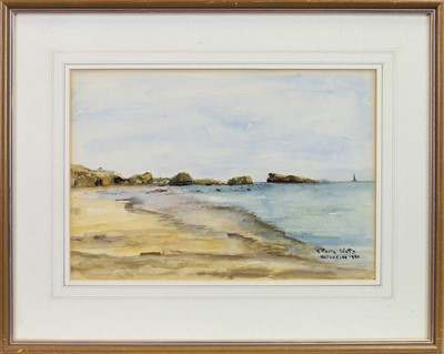 Lot 402 - ALBUFEIRA, A WATERCOLOUR BY ENID FOOTE WATTS