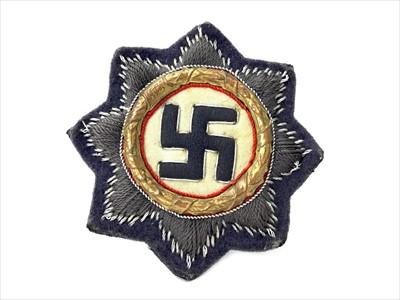Lot 1301-A THIRD REICH GERMAN CROSS CLOTH PATCH