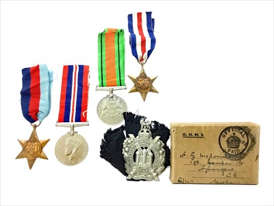 Lot 1302-A LOT OF WWII GENERAL SERVICE MEDALS