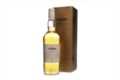 Lot 8-CAOL ILA  AGED 15 YEARS FLORA & FAUNA - FIRST RELEASE