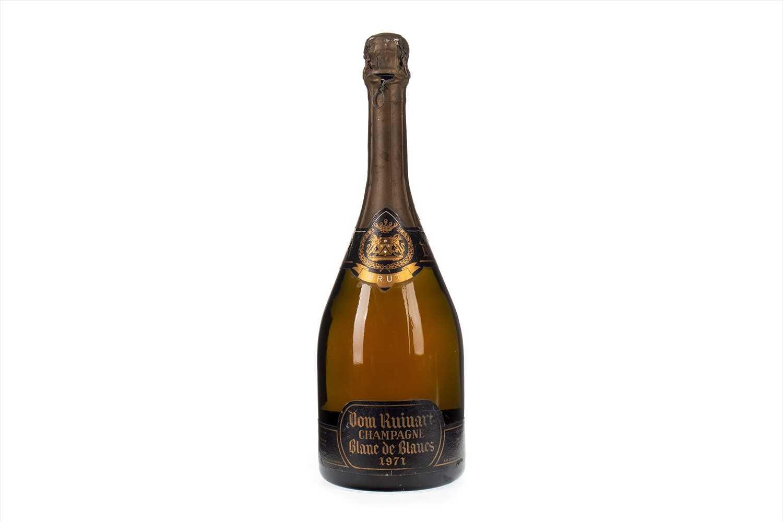 Lot 1006-DOM RUINART BLANC DE BLANCS 1971 Champagne Brut