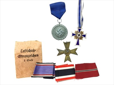 Lot 1306-A LOT OF THREE THIRD REICH MEDALS