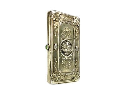 Lot 406-AN EARLY 20TH CENTURY FRENCH SILVER GILT CIGARETTE CASE