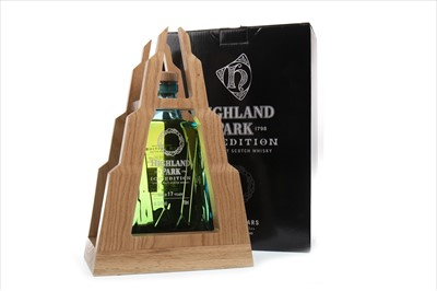 Lot 23-HIGHLAND PARK ICE AGED 17 YEARS