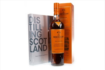 Lot 25-MACALLAN EDITION NO. 2 WITH TOTE BAG AND BOOK