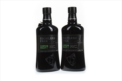 Lot 303-TWO BOTTLES OF HIGHLAND PARK SCOTTISH BALLET 50