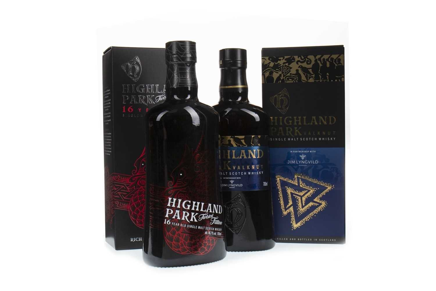 Lot 304-HIGHLAND PARK TWISTED TATTOO 16 YEARS OLD AND VALKNUT