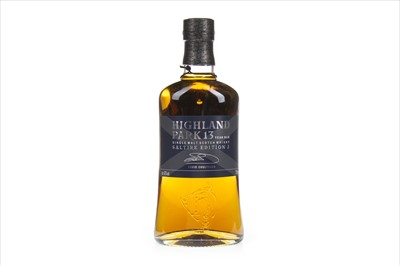 Lot 309-HIGHLAND PARK SALTIRE 13 YEARS OLD - EDITION 2