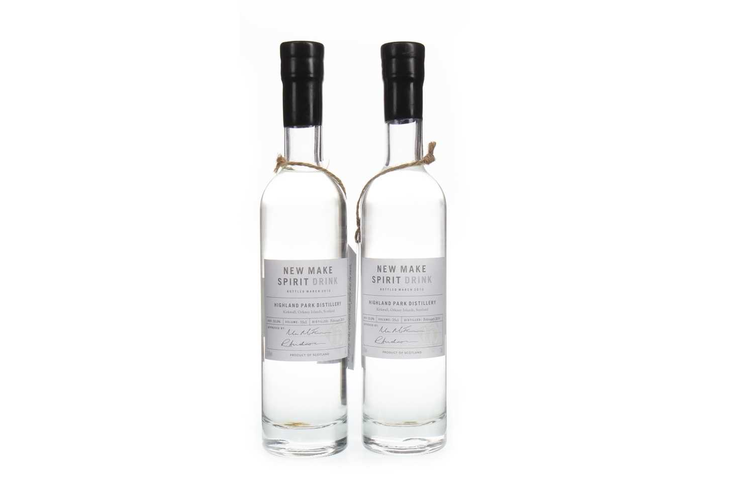 Lot 310-TWO HALF BOTTLES OF HIGHLAND PARK 2010 NEW MAKE SPIRIT