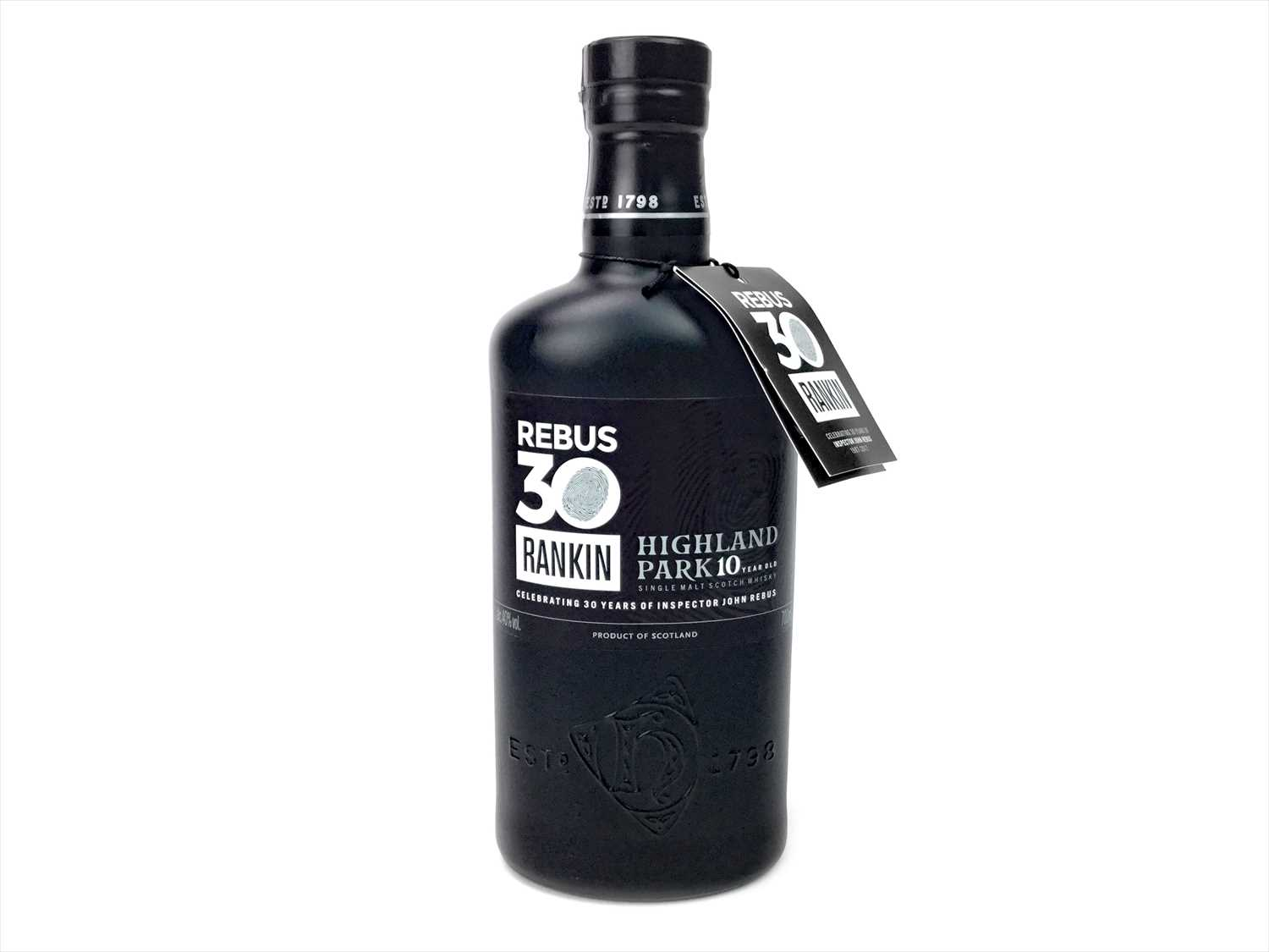 Lot 317-HIGHLAND PARK REBUS 10 YEARS OLD