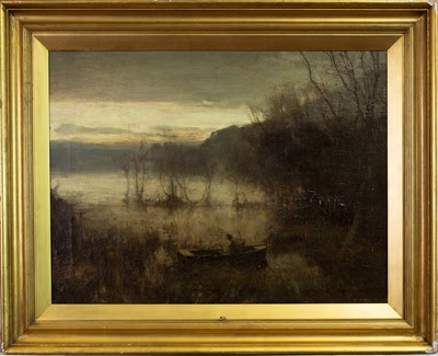 Lot 29-THE PEEP OF THE DAY, AN OIL BY DAVID FARQUHARSON