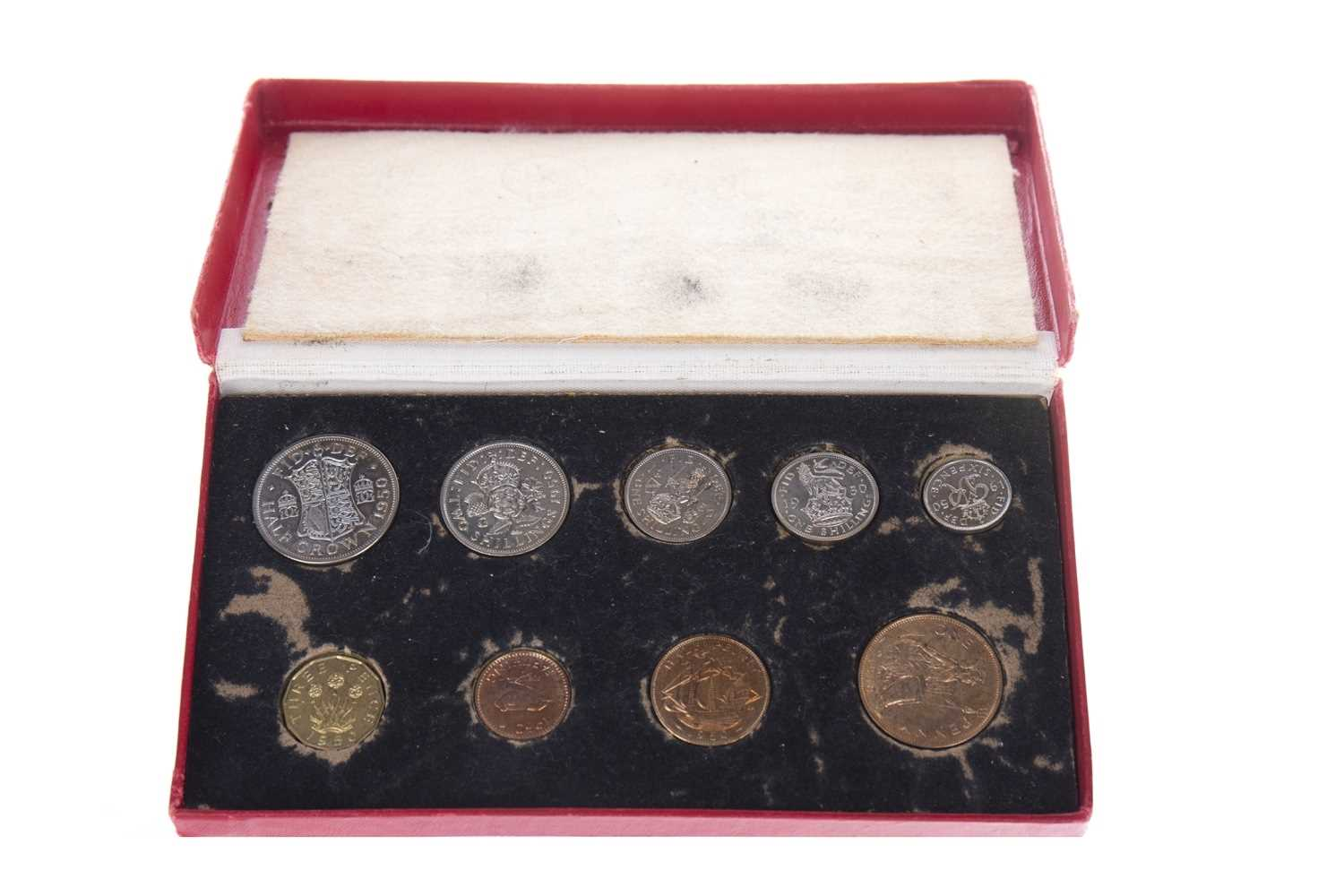 Lot 25-A THE ROYAL MINT 1950 ANNUAL COINAGE SET