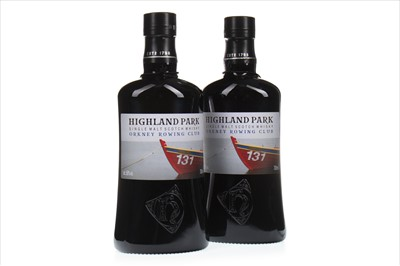 Lot 323-TWO BOTTLES OF HIGHLAND PARK ORKNEY ROWING CLUB