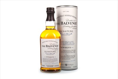Lot 319-BALVENIE SIGNATURE AGED 12 YEARS BATCH NO.1