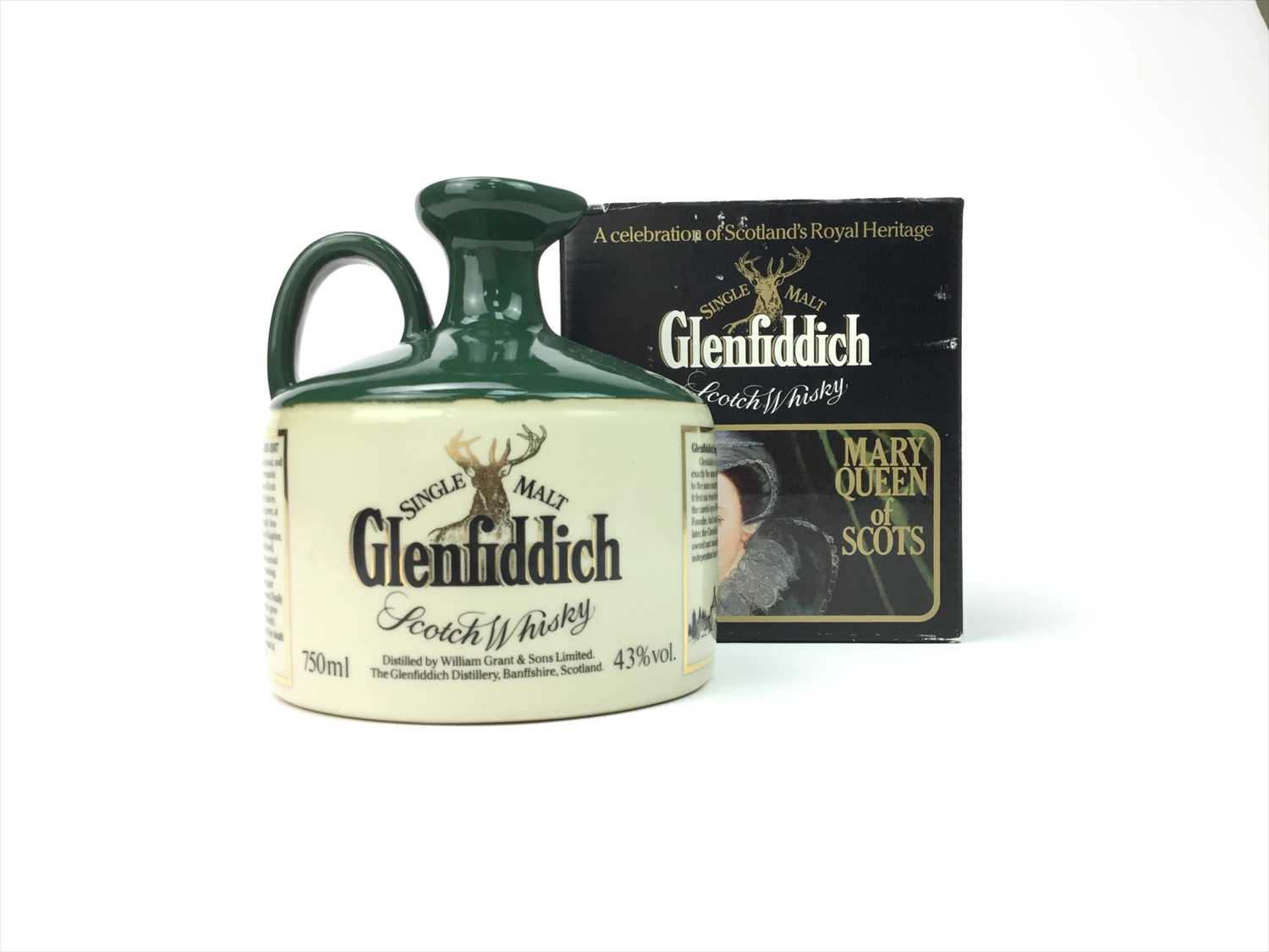 Lot 324-GLENFIDDICH MARY QUEEN OF SCOTS CROCK