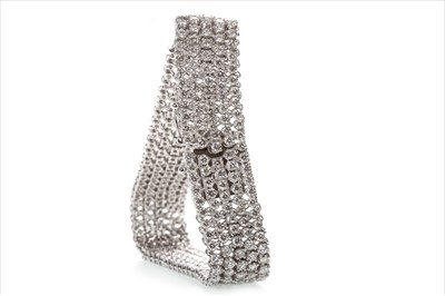 Lot 315-A DIAMOND FIVE ROW BRACELET