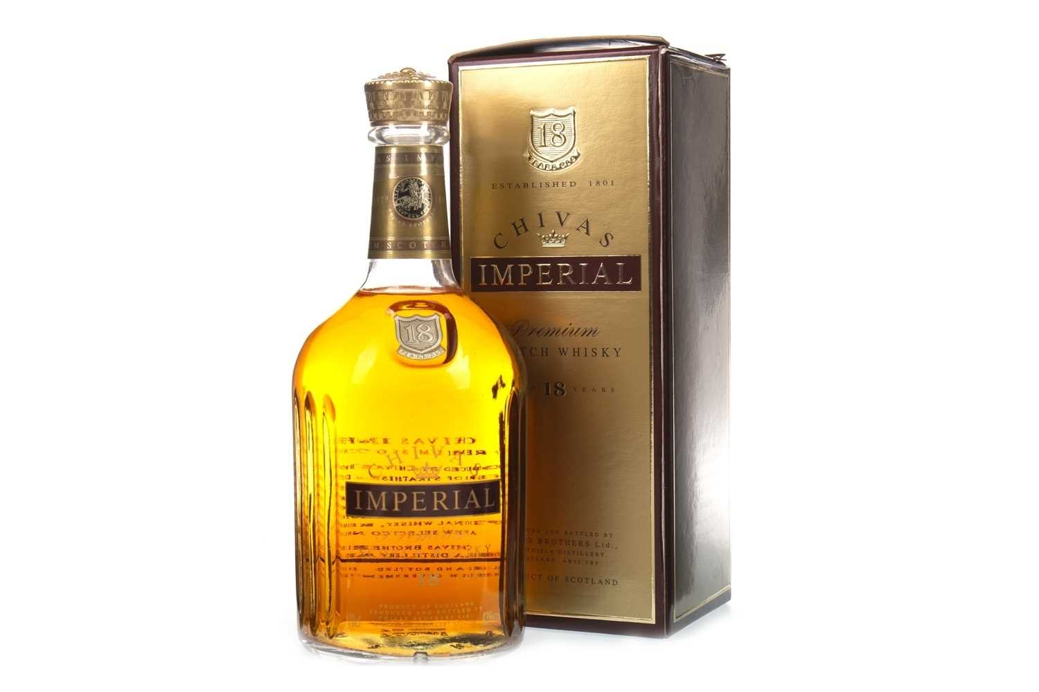 Lot 406 - CHIVAS IMPERIAL AGED 18 YEARS