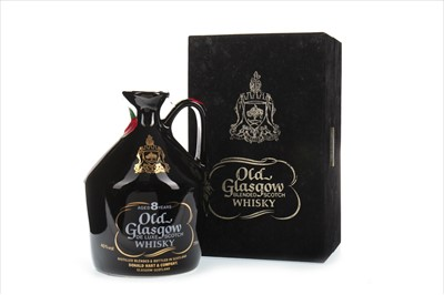 Lot 411-OLD GLASGOW AGED 8 YEARS