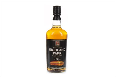 Lot 332-HIGHLAND PARK AGED 12 YEARS