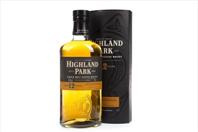 Lot 338-HIGHLAND PARK AGED 12 YEARS