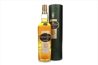 Lot 336-GLENGOYNE 10 YEARS OLD - ONE LITRE