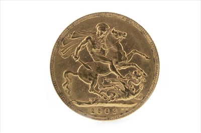 Lot 32-A GOLD SOVEREIGN, 1909